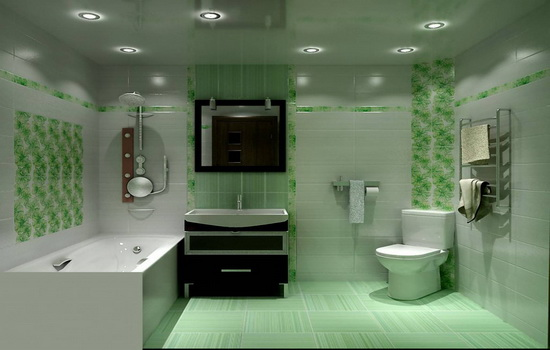 Krasivaya-vannaya-komnata-v-tsvetovoj-gamme-zelenogo-ottenka