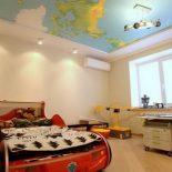 Натяжной пластиковый потолок
