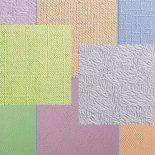 Финишная отделка потолка и стен обоями