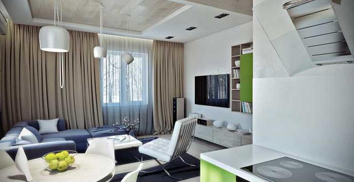 Современный дизайн окна квартиры. Подробное описание составляющих + фото
